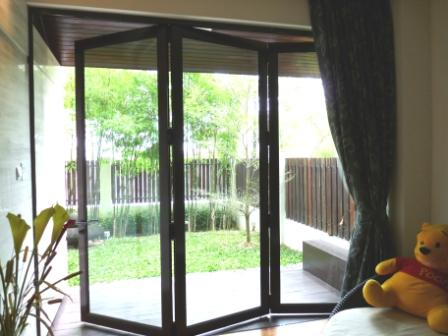 how to clean powder coated aluminium window frames
